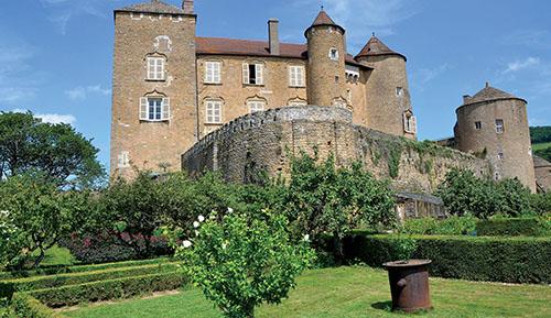 Château de Berzé le Châtel